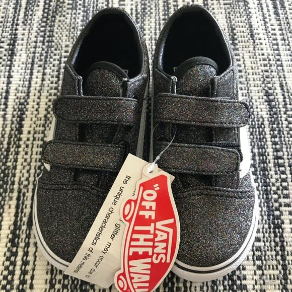 245c59cec2 Vans Girl Shoe Sparkle Grey Toddler